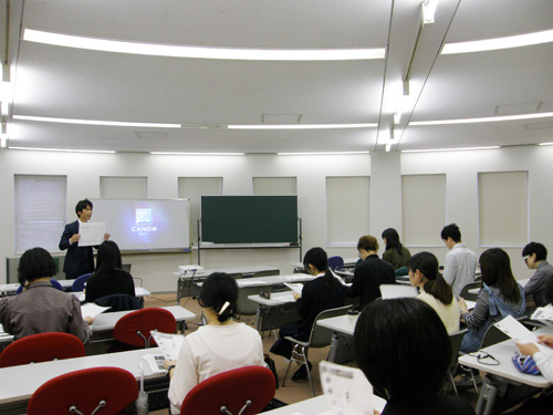 学内企業説明会を開催しました
